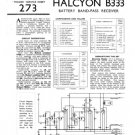 Halcyon B333 B-333 Service Manual