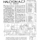 Halycon AC7 AC-7 Service Manual