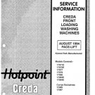 Creda 17087 Washing Machine  Service Manual