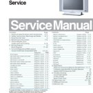 Magnavox 26MD251D is Philips TPE1.1U AA Chassis CTV Service Manual with Schematics etc
