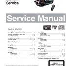 Philips AZ2537 (AZ-2537) Sound Machine Service Manual
