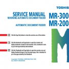 Toshiba MR2008 (MR-2008) Service Manual with Schematics etc