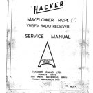 Hacker Mayflower RV14 (RV-14) Radio Workshop Service Manual with Schematics Circuits