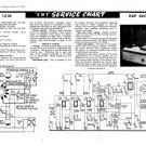 EAP Avon Tape Recorder Service Sheets Schematics Set