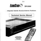Echostar SR5500 (SR-5500) Satellite Receiver Workshop Service Manual with Schematics