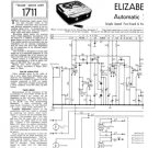 Elizabethan Automatic 4 Tape Recorder Service Sheets Schematics Set