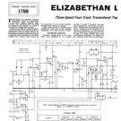 Elizabethan LZ102 (LZ-102) Tape Recorder Service Sheets Schematics Set