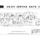 Elpico CR575 (CR-575) Service Sheets Schematics Set