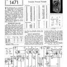 Emerson 888 Radio Service Sheets Schematics Set