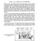 EMI T2211 (T-2211) Band III Converter Service Sheets Schematics Set