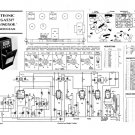 Etronic EGA5517 (EGA-5517) Windsor RG Service Sheets Schematics Set