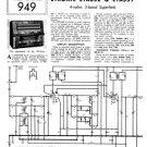 Etronic ETA632 (ETA-632) Radio Service Sheets Schematics Set