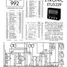 Etronic ETU5329 (ETU-5329) Wireles Service Sheets Schematics Set