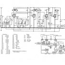 Etronic WB430 (WB-430) Radio Circuit Schematic Diagram Set only