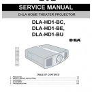 Yamaha DLAHD1BU (DLAHD-1BU) (DLA-HD1BU) Projector Service Manual