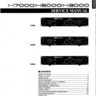 Yamaha H7000 (H-7000) Power Amplifier Service Manual