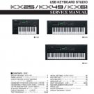 Yamaha KX25 (KX-25) Keyboard Service Manual