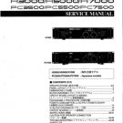 Yamaha PC7500 (PC-7500) Power Amplifier Service Manual
