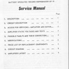 Hacker GP19 Rambler Service Manual Schematics