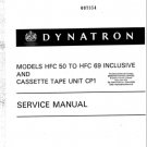 Dynatron HFC52 (HFC-52) Radiogram Service Manual