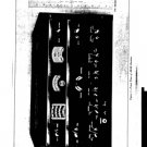 RCA AR88D (AR-88D) Receiver Instructions Schematics Operating Combined