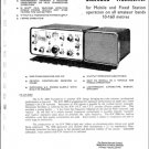 KW 2000 Transceiver Instruction Service Schematics and Operating User