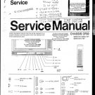 Philips 14CE1558 Television Service Manual