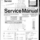 Philips 52KE1551-xx Television Service Manual