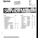 Philips MD1.2E AA Chassis Television Service Manual