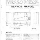 Yamaha M1524 (M-1524) Mixer Service Manual