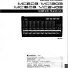 Yamaha MC1603 (MC-1603) Mixing Console Service Manual