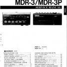 Yamaha MDR3 (MDR-3) Music Disk Recorder Service Manual