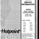 Creda 17048 Washing Machine Service Manual