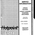 Creda 17076 Simplicity Wahsing Machine Service Manual