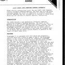 Hoover A3492 (A-3492) Computer Logic 1300 Washing Machine Workshop Service Manual