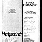 Hotpoint 7870 Dishwasher Service Manual
