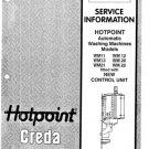 Hotpoint WM20 (WM-20) Washing Machine Service Manual