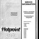 Jackson 72903 Dishwasher Service Manual