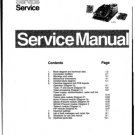 Philips GR2.1AA Chassis Television Workshop Service Manual