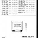 Sony KV-M2170E (KVM-2170E) (KVM2170E) Television Service Manual