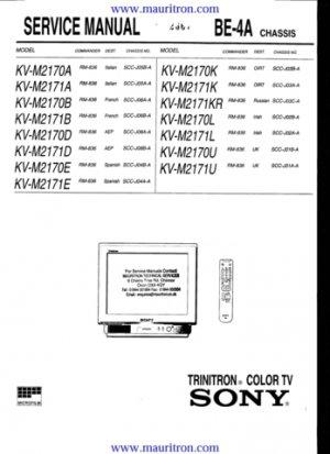Sony KV M 2170 K BE 4A