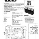 Fidelity RAD26 (RAD-26) Radio Service Sheets Schematics Set
