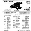 Sony CCDFX525 (CCD-FX525) (CCDFX-525) Camcorder Service Manual