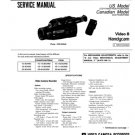 Sony CCDFX530 (CCD-FX530) CCDFX-530) Camcorder Service Manual