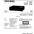 Sony CDPC221 (CDP-C221) (CDPC-221) CD Player Service Manual