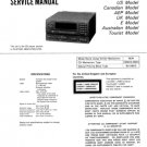 Sony CDPH3750 (CDP-H3750) (CDPH-3750) CD Player Service Manual