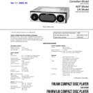 Sony CDXCA700X (CDX-CA700X) (CDXCA-700X) Car CD Player Service Manual