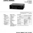 Sony CDXR77 (CDX-R77) (CDXR-77) Car Audio Service Manual