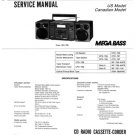 Sony CFD768 (CFD-768) Music System Service Manual