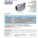 Sony DCRTRV39 (DCR-TRV39) (DCRTRV-39) Camcorder Service Manual
